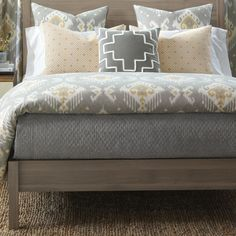 Found it at Wayfair - Downey Bowen Slate Coverlet Collection