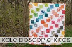 Kaleidoscope Kites Quilt   FaveQuilts.com