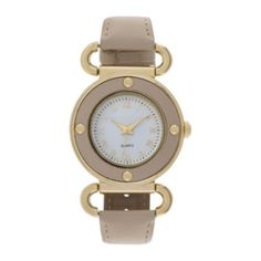 Womens Four Dot Circular Roman Numeral Watch  found at @JCPenney