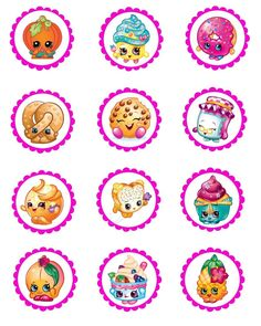 Kids Birthday Party Ideas With FREE Printables - Shopkins Party Ideas Fete Shopkins, Shopkins Bday, Shopkins Party Ideas, Shopkins Costume, Shopkins Girls, Shopkins Invitations Template, Shopkins Printable, Invitation Templates, 6th Birthday Parties