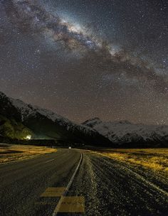 Milky Way At Mount Cook National Park | Vertorama 3 images #milky #milky_way #aoraki #mount_cook #vertorama #stars #astro #nz