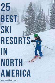 Best Ski Resorts in North America | a speck in time Skiing In America, Best Family Ski Resorts, Ski Usa, New Mexico Road Trip, Sunshine Village, Wanderlust, Best Skis, Ski Vacation, Ski And Snowboard