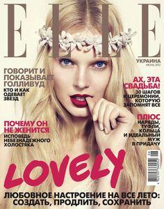 Cover - Best Cover Magazine  - Anastasija Kondratjeva, Elle Magazine [Ukraine] (June 2012)   Best Cover Magazine :     – Picture :     – Description  Anastasija Kondratjeva, Elle Magazine [Ukraine] (June 2012)  -Read More –