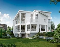 Husboken - Øster Hus My Glass, Home Fashion, Multi Story Building, Mansions, House Styles, Design, Home Decor, River, House 2