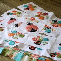 Secret Garden tutorials and templates - cute quilt blocks!