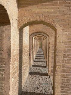 Isfahan, Iran: Khaju Bridge