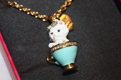 New! NIB! Juicy Couture ASPCA Teacup Yorkie Pendant Charm Necklace YJRU7297 $78 #Pendant