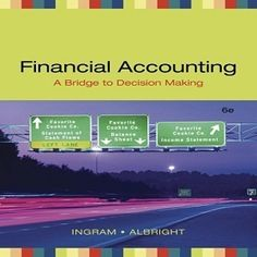 Solution manual for accounting information systems the crossroads of 73 free test bank for financial accounting a bridge to decision making edition ingram multiple choice questions fandeluxe Image collections