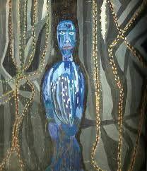 violeta parra Outsider Art, Dark Art, Chile, Turquoise Necklace, Fiber, Diy And Crafts, Artists, Low Fiber Foods, Chili