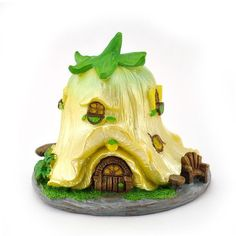 Tulip Fairy House ~ Yellow 7462