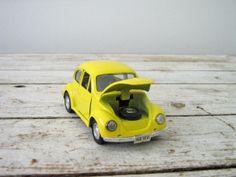 VW Beetle DieCast Model Car Vintage Volkswagen by OWSvintage. SOLD