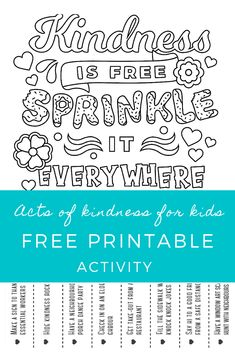 Neighbourhood Kindness Challenge - The Covid Community Kindness Project Week 3 Kindness Projects, Kindness Activities, Health Activities, Activities For Kids, Kindness Challenge, Social Emotional Learning, Thinking Day, Gentle Parenting, Worksheets For Kids