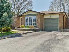 10 Kenton Crt, Whitby ONTARIO - 1   MLS Canada House, Mls Listings, Ontario, Condo, Garage Doors, Real Estate, Outdoor Decor, Home Decor, Decoration Home