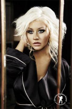 Christina Aguilera fragrance shoot, 2013