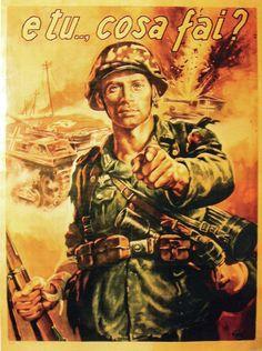"Italian  WW2  ""And you.., What do you do?"""