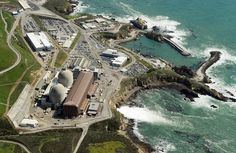 The Diablo Canyon Nuclear Power Plant which sits on the edge of the Pacific Ocean at Avila Beach in San Luis Obispo County, California