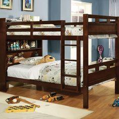Hokku Designs SeaRidge Twin Over Twin Bunk Bed | AllModern - $745