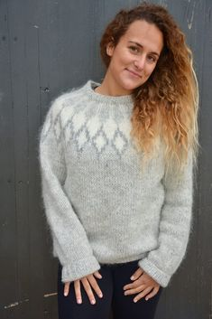 Handgestrickte Pullover, Knitting Yarn, Crochet, Sexy, Sweaters, Collection, Fashion, Icelandic Sweaters, Projects