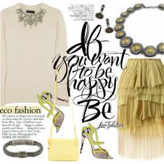 A fashion look from February 2015 featuring loose tops, tulle skirt and mini handbags. Browse and shop related looks.