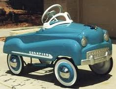 Pedal Car - Merle had one as a child - LOVED IT!!!