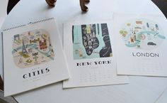 Calendar Pictures in frames