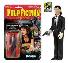 """SDCC-2014-""""Pulp-Fiction"""" Vincent figure Jules / Comic Con Exclusive"""