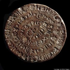 Scientists Finally Crack The Code Of The Ancient 'Phaistos Disk' + TED talk on the disk with reading