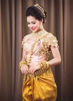 khmer wedding costume