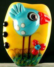 Laurie Geller Handmade Lampwork Bead ~SALE!!!!~ SRA*. Fun!