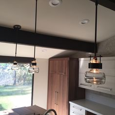 CUFF pendant by #HubbardtonForge Private residence San Diego Ca. Available at: www.urbanlighting.net