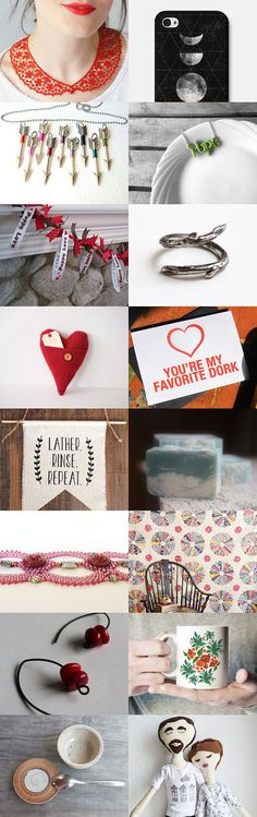 Red Red Red by Elizabeth Urquhart on Etsy--Pinned with TreasuryPin.com