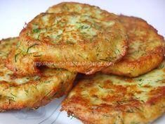 Ingrediente reteta Chiftele din dovlecei cu branza :  1/2 kg dovlecei  100 g branza telemea de vaca  2 oua  o legatura marar  5 linguri fain...