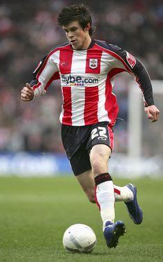 ~ Gareth Bale on Southampton ~ Southampton Football, Southampton Fc, Pier Paolo Pasolini, Real Madrid Players, Gareth Bale, Team S, Premier League, Kicks, Soccer