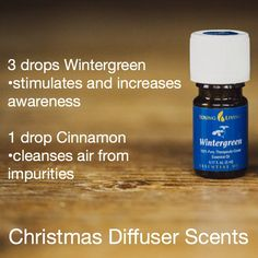 Young Living Essential Oils: Diffuser Wintergreen