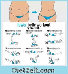 Amazing lower belly exercise to lose your muffin top. If you want to really flatten and sculpt your belly, you have to make sure you're hitting every last inch of those hidden muscles. #exercise #weightloss