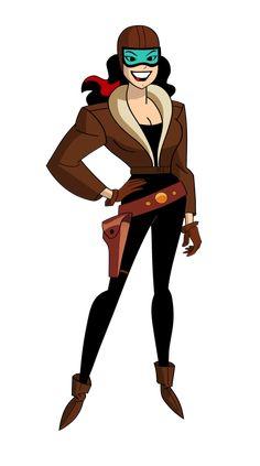 Roxy Rocket in The New Batman Adventures. Comic Villains, Dc Comics Characters, Dc Comics Art, Gordon Batman, Comic Character, Character Design, Badass Movie, The New Batman, Cartoon Fan