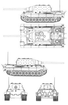 tiger 1 tank blueprints
