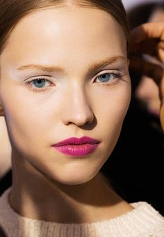 Dior's Look for Cruise 2014 (Makeup by Pat McGrath)