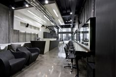 futuristic ultra-modern salon design ideas