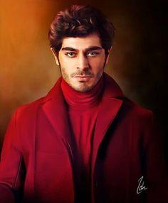 Turkish Men, Turkish Beauty, Turkish Actors, Beautiful Celebrities, Beautiful Men, Beautiful People, Most Handsome Actors, Handsome Boys, Murat And Hayat Pics