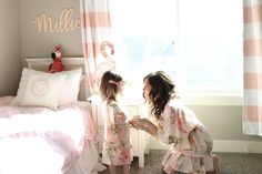 Mommy Daughter Matching Plum Pretty Sugar Robes Millie is always wanting to match so naturally, we absolutely LOVE our Plum Pretty Sugar Robes! - Smudgey