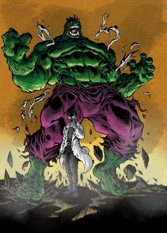#Hulk #Fan #Art. (Hulk By: Texas0418-daili1u &Marcopelandraart. ÅWESOMENESS!!!™ ÅÅÅ+