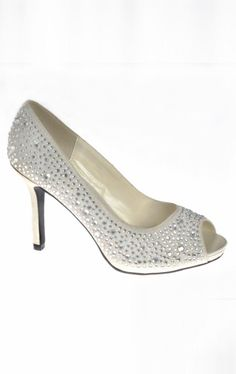 Embellished Peep Toe by Your Party Shoes Item  1057 by Dave and Johnny ( Spring c97cc8ad014e
