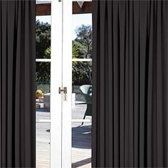Briscoes - Habitat Sundown Pencil Pleat Curtains Pair