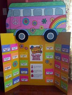 Groovy Book Fair Teacher Wish List Board