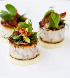 Chicken & ham hock ballotine #food #catering