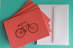 Beach Cruiser Notecards (Libbey Paperie)