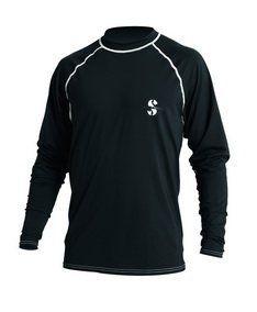 7569b2acf Scubapro Loose Fit Rash Guard Long Sleeve Black Size M     For more  information