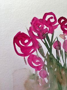 """Kaufe """"abstrackte rosa Blumen"""" von Britta75 auf folgenden Produkten: Grafik T-Shirt, Kontrast Top, T-Shirt Kleid, Sticker, iPhone-Hülle/Skin, iPhone Flip-Case, Hülle & Skin für Samsung Galaxy, Kissen, Tasche, Tasse, Thermosbecher, Kunstdru..."""