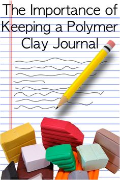 The Importance of Keeping a Polymer Clay Journal by Katie Oskin for Polyform